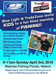 BlueLight fishing flyer Nelson